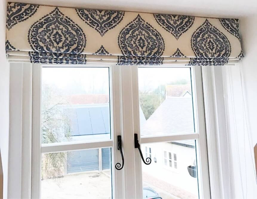 Roman Headrail Kits Tulip Blinds